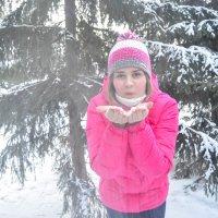 Снежный поцелуй. :: Света Кондрашова