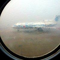 Гроза станции. Льёт как из ведра. Через пол часа - лётная погода. :: Alexey YakovLev