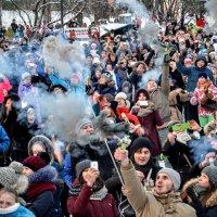 Фестиваль цветного дыма :: Юрий Тихонов