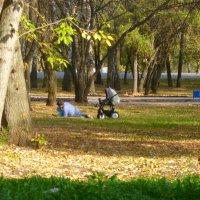 в парке :: НАДЕЖДА КЛАДЧИХИНА