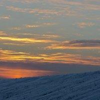 Морозный закат :: Ирина Шарапова