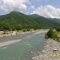 Река Пзезуапсе :: Виктор Мухин