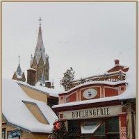 Город в снегу :: Natali