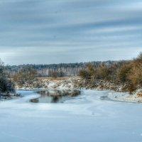 Зима наступает, но Днепр не сдаётся! :: Милешкин Владимир Алексеевич