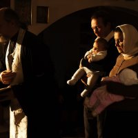 Таинство крещения. :: Фима Гезенцвей