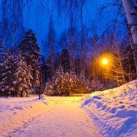 Вечерний Снежинск :: Светлана Игнатьева