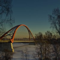 Мост на рассвете. :: cfysx