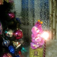 СВЕТЛОГО РОЖДЕСТВА ХРИСТОВА!МИРА И ДОБРА! :: Елена Семигина