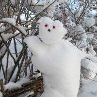 Снежик на заборе :: Galaelina