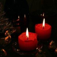 Две свечи и конфетки :: Татьяна [Sumtime]