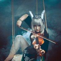 Девушка играет на скрипке :: Юра Викулин
