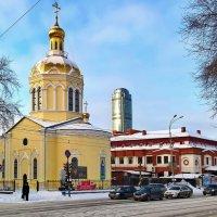 Церковь Крестовоздвиженского мужского монастыря. :: Пётр Сесекин