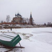 Зимний лов рыбы в Дунилово :: Александра