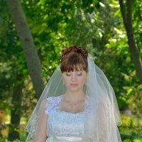 Невеста с букетом. Анастасия. :: Раскосов Николай