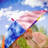 мама, а дождик будет? :: Lana Suprunjuk