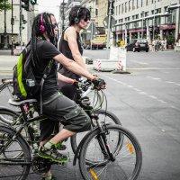 Берлинские велосипедистки :: Ольга