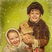 Дети с подарками :: Наталья Сергеева
