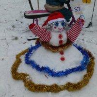 Парад снеговиков :: Наиля