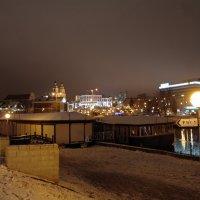 Первый снег Минск зима декабрь :: Иван Медоф