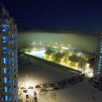 Туман над рекой...а через 2 дня от снега и следа не осталось)))) :: Таня Харитонова