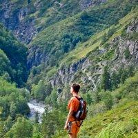 В горах :: Ольга