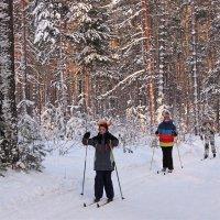На лыжне :: И.В.К. ))