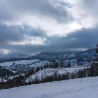 Украина,Закарпатье,Карпаты,горы,зима :: Сергей Форос