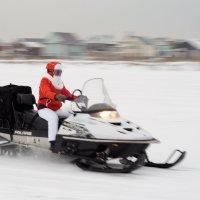 Дед Мороз (современный вариант) :: Сергей Яценко