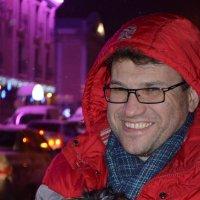 мужчина с собачкой :: ruslan romaniuk