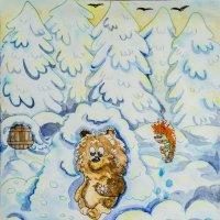 ёжик и медвежонок :: Дмитрий Потапкин