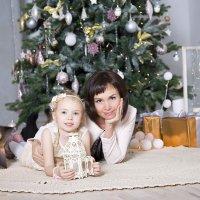 НОВОГОДНИЙ ФОТОПРОЕКТ дочка и мама :: Нина Бородина