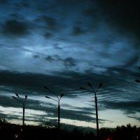 Sky. Streetlamps. In tha hood :: Yur Lo