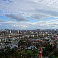 Облака над Краснодаром :: Андрей Майоров