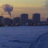 Мороз крепчает в январский вечер :: Владимир Максимов