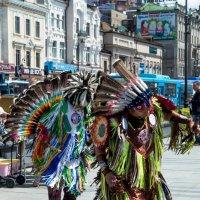 Индейские танцы :: Михаил Минькин