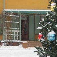Музей-усадьба Л.Толстого в Хамовниках. Терраса. :: Маера Урусова