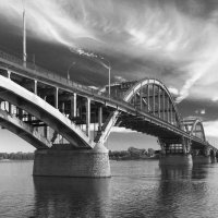 Мост через Волгу :: ВЯЧЕСЛАВ КОРОБОВ