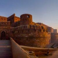 Индия.Красный форт .Он же дворец Падишаха.Утро. :: юрий макаров