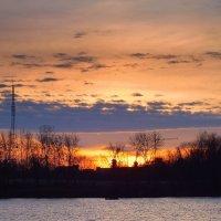 закат над Гомелем :: Александр Прокудин