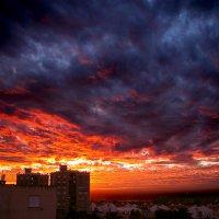 потрясающий закат :: Ефим Журбин