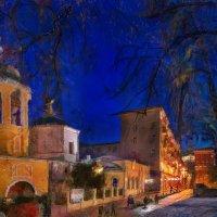 В тот вечер храм Светом души наполнял :: Ирина Данилова