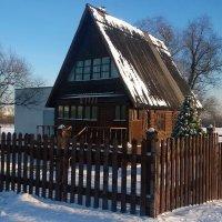 Пригрета крыша солнцем января... :: Николай Дони
