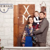 Новогодняя съемка у елочки :: Ольга Блинова
