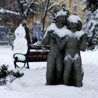 Зима любви не помеха. :: Сергей Рубан
