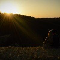 Рассвет любви на закате Солнца :: Елена Сущая
