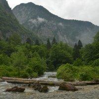 Горная река :: Екатерина Жукова