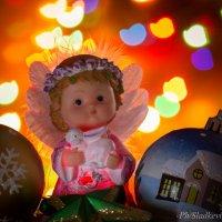 рождественский ангелок :: Оксана Сладкевич