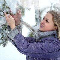 Такой радостный снег.... :: Виктор