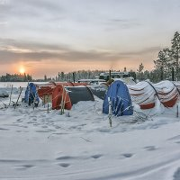 Палатки :: Николай Андреев