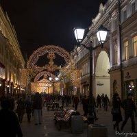 Огни ночной Москвы :: Виктор М